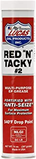 Lucas Oil 10005 Red 'N' Tacky Grease - 14 Oz.