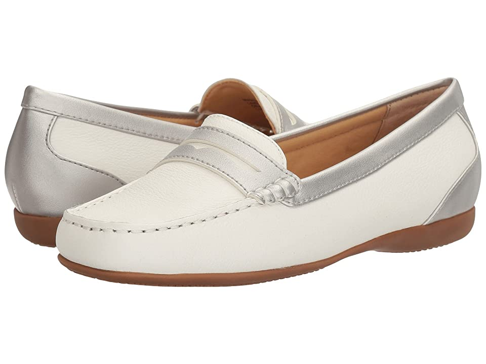 Trotters Staci (White/Silver) Women