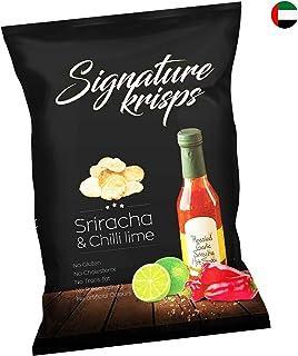 Signature Krisps Potato Chips, Sea Sriracha & Chilli Lime, 30 gm