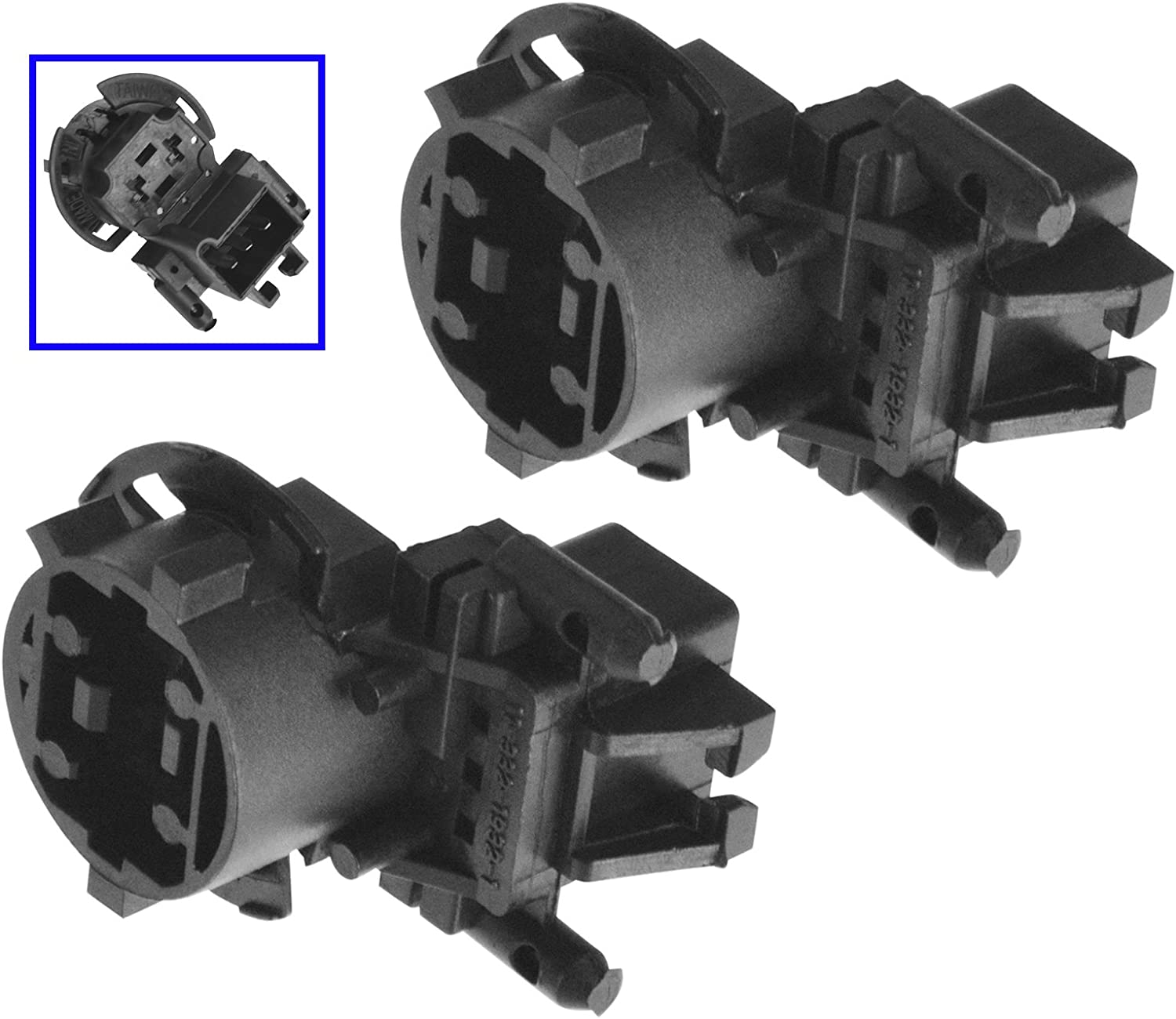 AC 未使用 Delco 89025036 Tail Light Bulb お気に入 Socket for Cavalier Chevy Pair