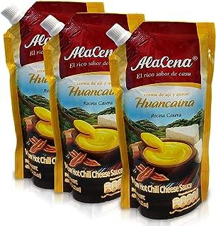 Alacena Huancaina Receta Casera Sauce 400 g - pack of 3