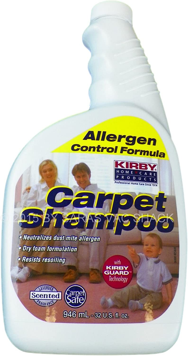 Kirby 252702 Allergen Dry Foam Scented Carpet Free shipping on posting reviews 32 Free Shipping New Shampoo oz Quar