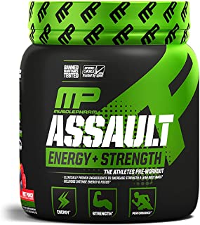 Assault Pre-Workout 30 servings Ponche de frutas