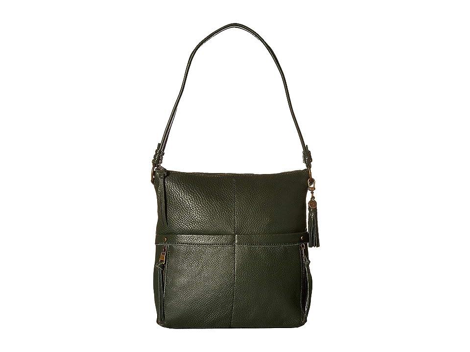 The Sak Suri Zip Top Bucket The Sak Collective (Hunter) Handbags, Green
