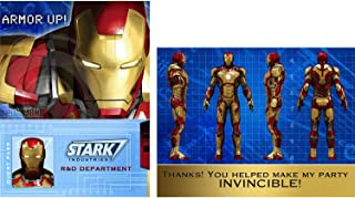 Best iron man invitation card Reviews