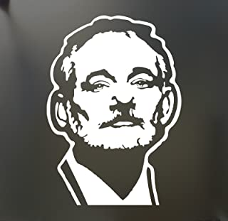 Bill Murray Sticker Funny Caddyshack Truck Car The Window Bumper, Die Cut Vinyl Decal for Windows, Cars, Trucks, Tool Boxes, laptops, MacBook - virtually Any Hard, Smooth Surface