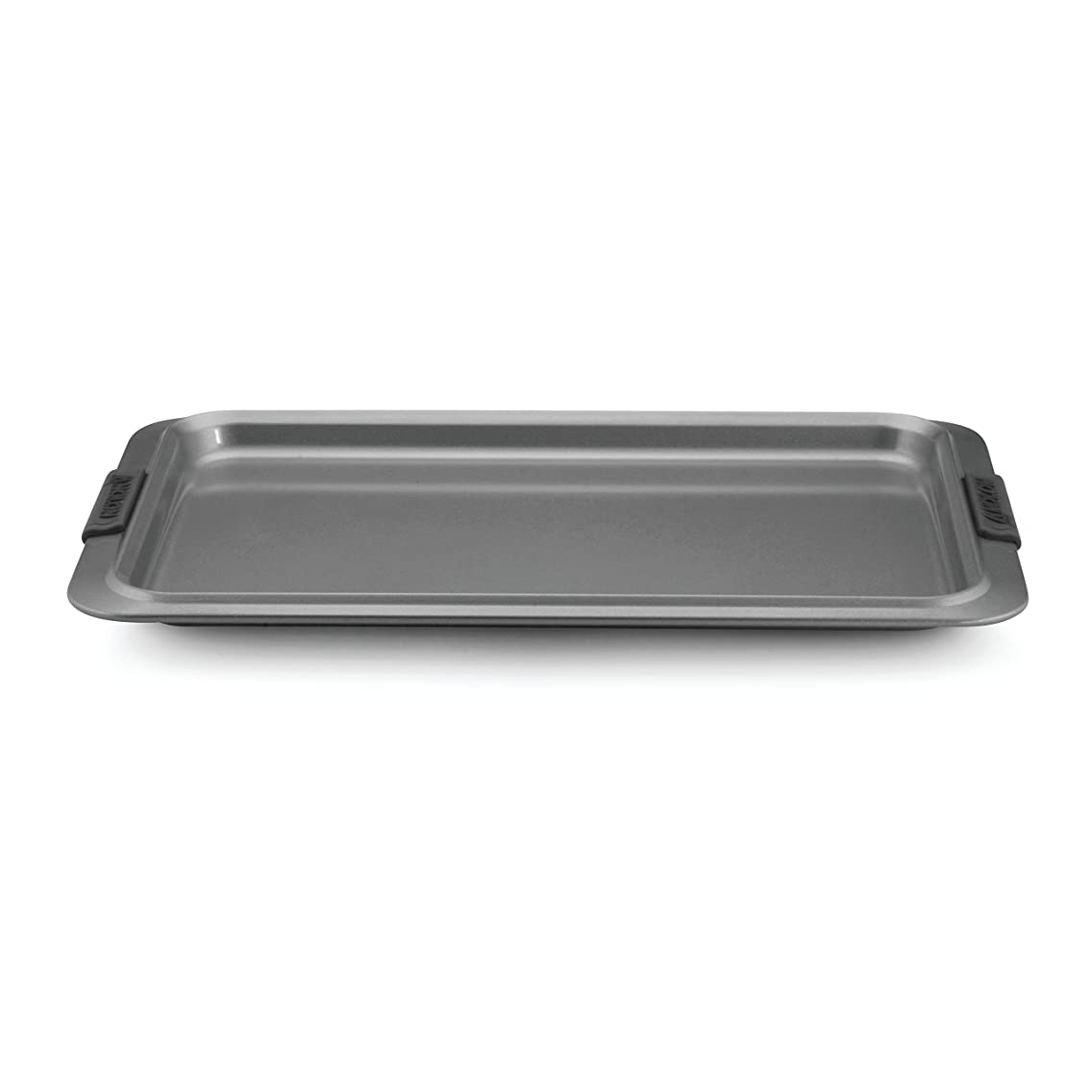 Anolon Advanced Nonstick Bakeware 11-Inch x 17-Inch Cookie Sheet, Gray with Silicone Grips