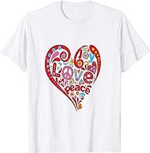 Peace & Love 60's Novelty Gift Shirt