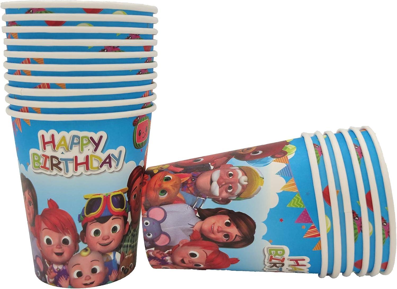 Cocomelon Paper Cups