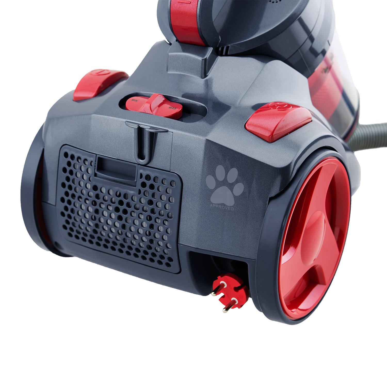 H.KOENIG SLX970 - Aspirador Multi Ciclónico sin bolsa Silence + ...