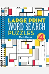 Large Print Word Search Puzzles 4 (Volume 4) Spiral-bound