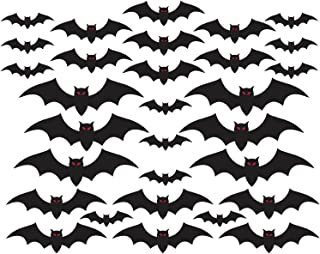 amscan Halloween Cemetery Bat Cutouts Mega Value Pack- 30 Pack