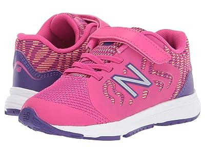 New Balance Kids 519v2 (Infant/Toddler) (Exuberant Pink/Prism Purple) Boy
