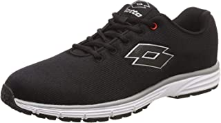 Lotto Beat Black Running Shoes for Men 6 UK