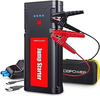 راه انداز پرش اتومبیل قابل حمل DBPOWER 2500A 21800mAh تا 8.0 لیتر موتورهای دیزلی گاز / 6.5 لیتر ، تقویت کننده باتری خودکار ، بسته قدرت قابل حمل با پورت شارژ هوشمند