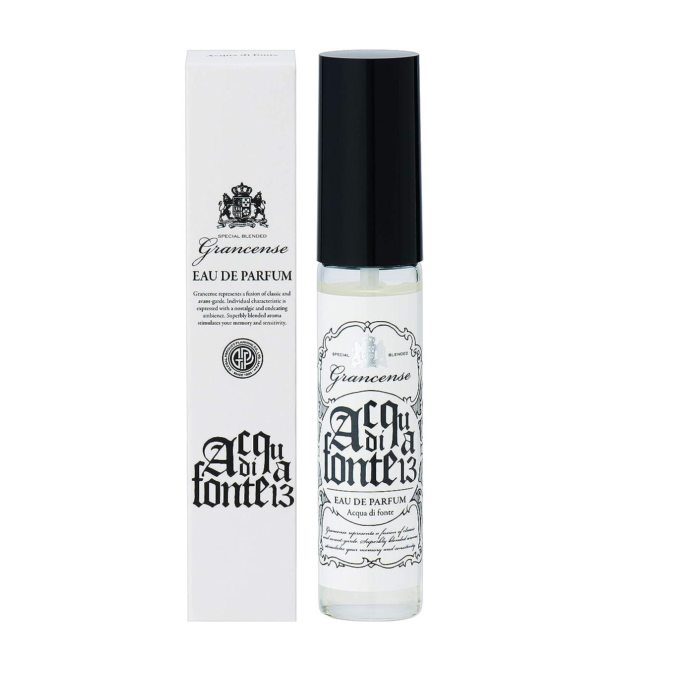 ナプキン大胆な苦しむグランセンス オードパルファム アクアディフォンテ 15ml(香水 携帯用 みずみずしいグリーンノートと深みのあるシダーウッドが響き合う湧き水を思わせるような心安らぐ香り)
