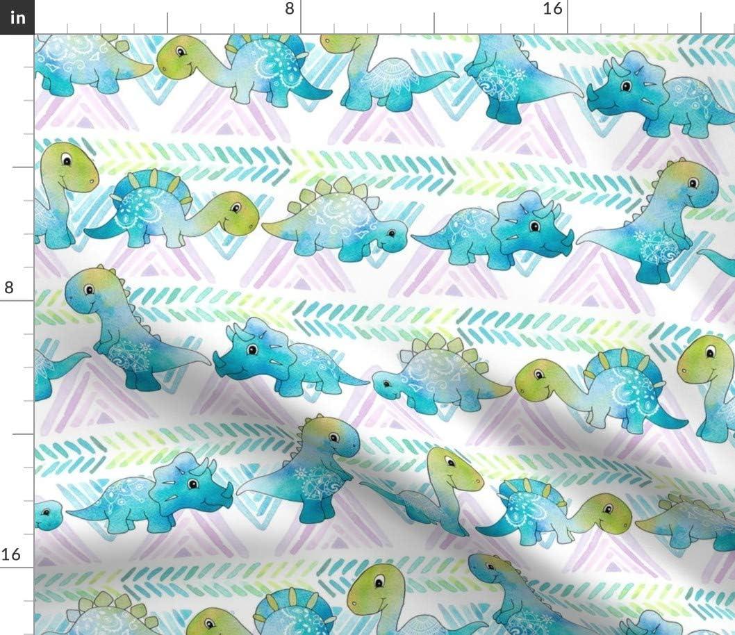 Spoonflower Fabric - Max 73% OFF Boho Dino Dinosaurs Illustration Boy Girl overseas W