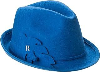 RACEU ATELIER Sombrero Royal Azul Francia - 100% Fieltro de Lana -  Resistente al Agua 93e5dfdb6e7