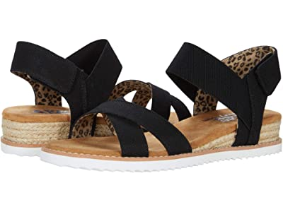 BOBS from SKECHERS Desert Kiss Secret Picnic (Black) Women