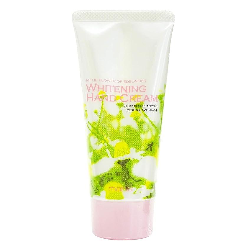毎月アジア人風味マニス ホワイトニング ハンドクリーム 医薬部外品 60g