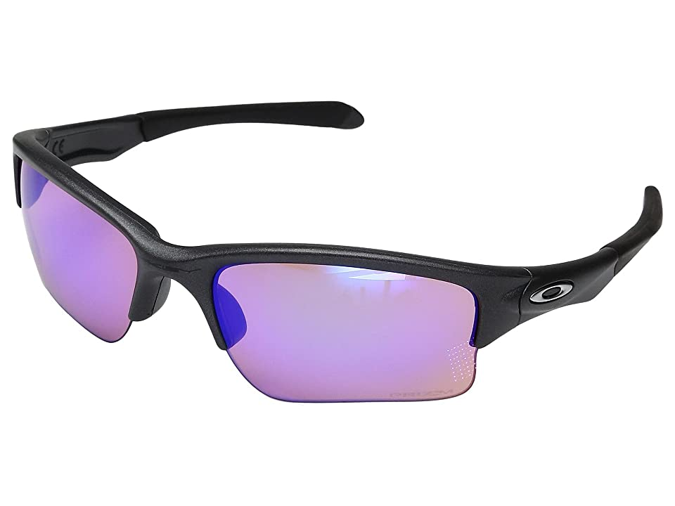 Oakley Quarter Jacket (Steel w/ Prizm Golf) Fashion Sunglasses