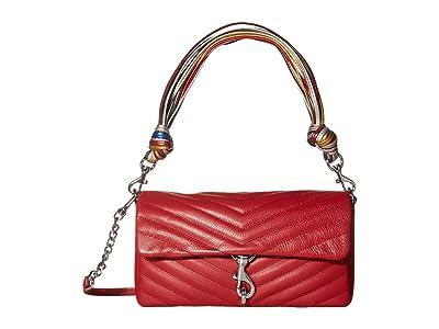 Rebecca Minkoff Edie Baguette w/ Cording Strap (Paprika) Handbags