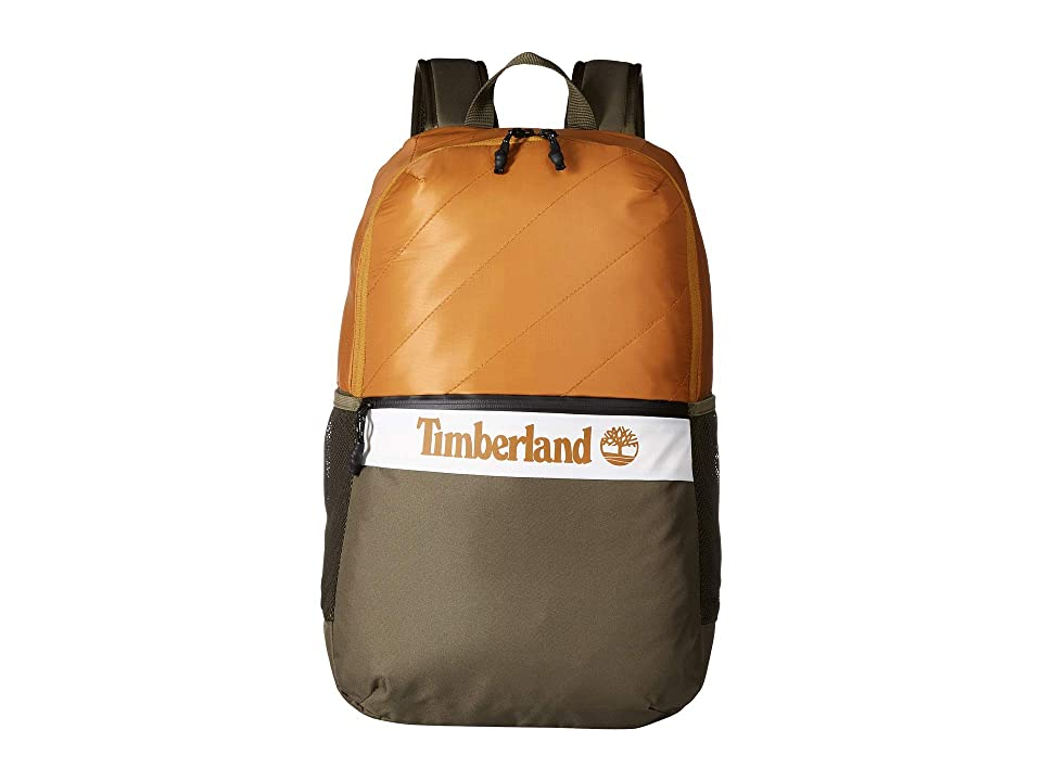 Timberland Zip Top Backpack 28L (Wheat Boot) Backpack Bags