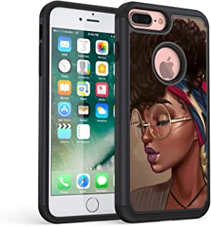 iPhone 8 Plus Case, iPhone 7 Plus Case, Rossy Heavy Duty Hybrid TPU Plastic Dual Layer Armor Defender Protection Case Cover for Apple iPhone 7 Plus /8 Plus 5.5