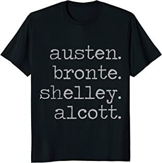 Austen Bronte Shelley Alcott T-Shirt | Female Authors