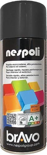 Nespoli Peinture Noir - Peinture Pro Mat - 400ml