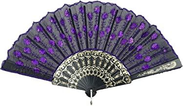 Best purple hand fans Reviews