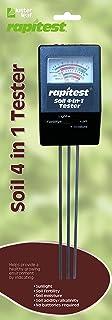 Luster Leaf 1818 Rapitest 4-in1 Soil pH/Moisture/Fertility/Light Tester, Fertility