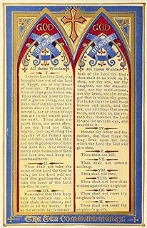 10 commandments poster printable