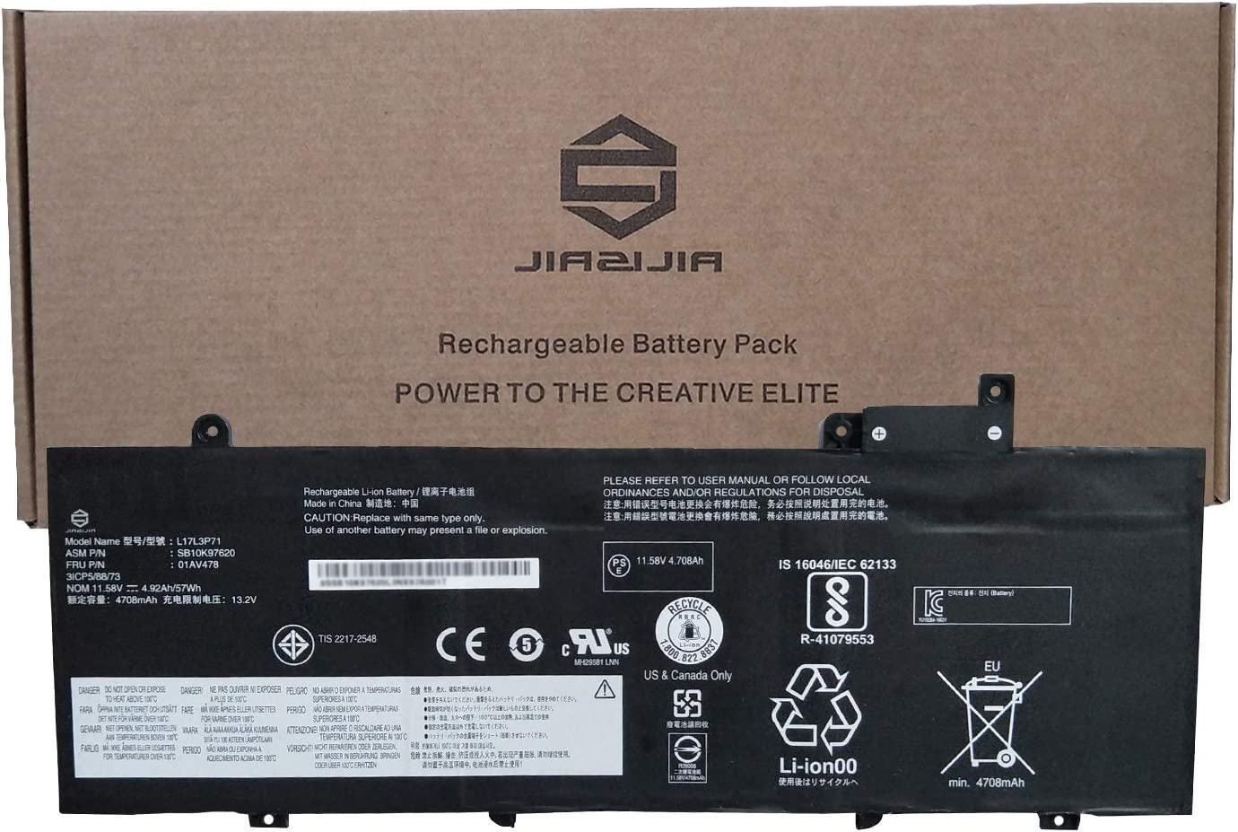 JIAZIJIA 01AV478 Laptop Credence Battery Cheap SALE Start for Lenovo Replacement ThinkPad