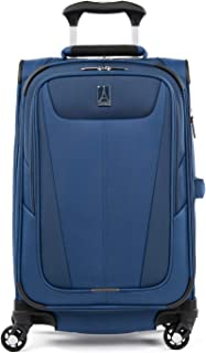 Travelpro Maxlite 5 - Softside Expandable Spinner Wheel Luggage, Sapphire Blue, Carry-On 21-Inch