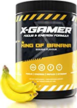 X-Gamer X-Tubz – Gaming Booster Pulver – Shake It Yourself – 600g 60 Servings King of Banana Estimated Price : £ 36,88