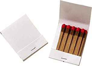 50 Plain White Matches Matchbooks Wedding, Birthday etc