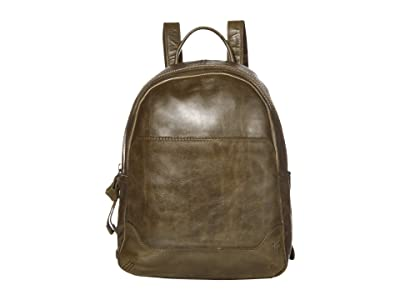 Frye Melissa Medium Backpack (Pine) Backpack Bags