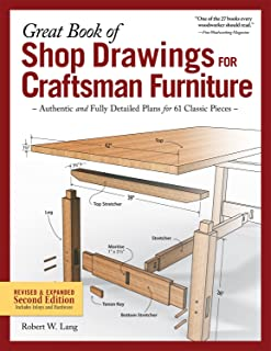 Great Book of Shop Drawings for Craftsman Furniture, Revised & Expanded Second..