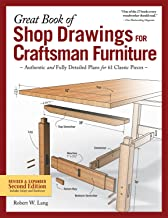 Great Book of Shop Drawings for Craftsman Furniture, Revised & Expanded Second Edition: Authentic and Fully Detailed Plans...