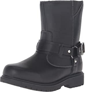 Deer Stags Curb Water Resistant Pull On Buckle Fashion Comfort Boot (Little Kid/Big Kid)
