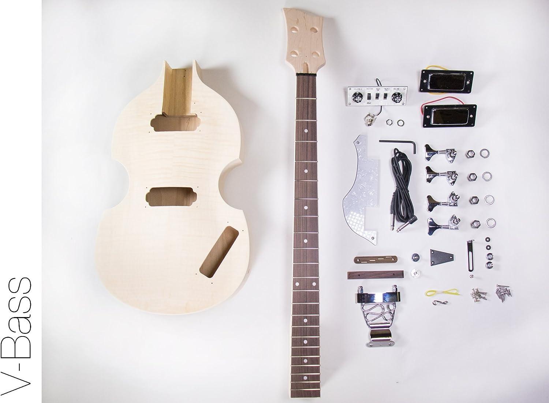 送料無料激安祭 The FretWire DIY Electric Bass Guitar NEW ARRIVAL Build Kit Yo - Violin