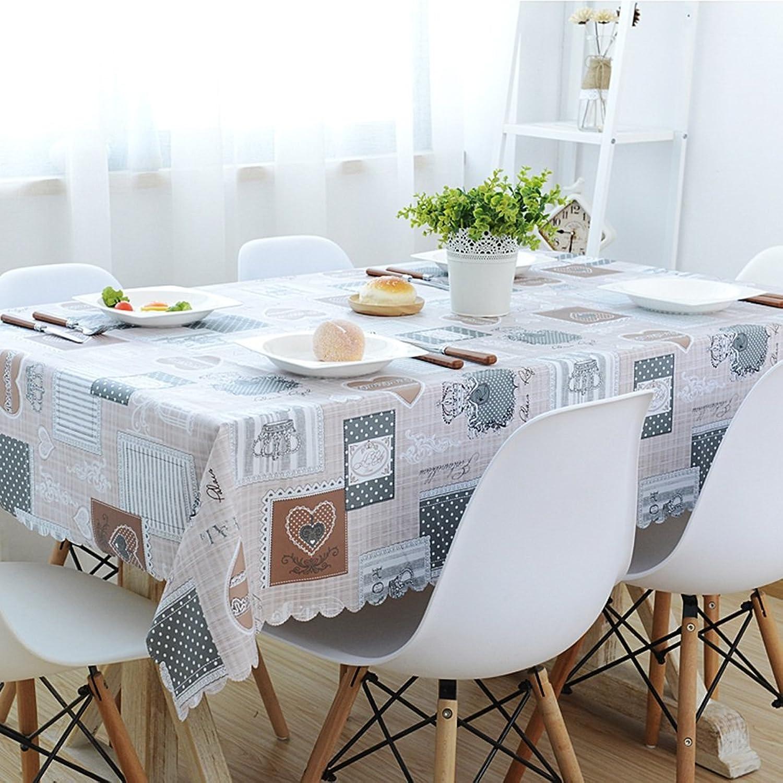 Qiao jin Tischdecke Rechteckige Tischdecken Hotel Couchtisch Tischdecke - (DT00032) (Farbe   B, größe   135  200cm) B07D1MRW3Y Primäre Qualität  | Bevorzugtes Material