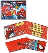Amazonfr Carte Invitation Anniversaire Spiderman
