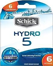 Schick HYDRO 5 Blades, 6 Cartridges