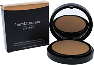 bareMinerals pro Performance Wear Powder Foundation, Silk, 0.34 Ounce (I0085691)