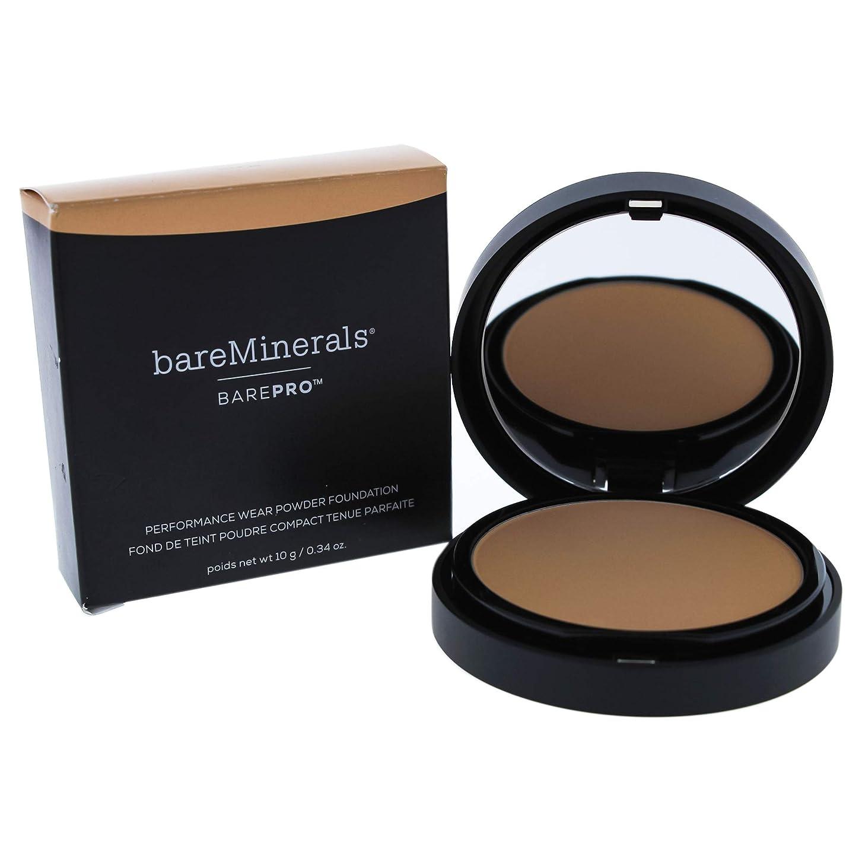 弾丸ヒロイン弾性ベアミネラル BarePro Performance Wear Powder Foundation - # 14 Silk 10g/0.34oz並行輸入品