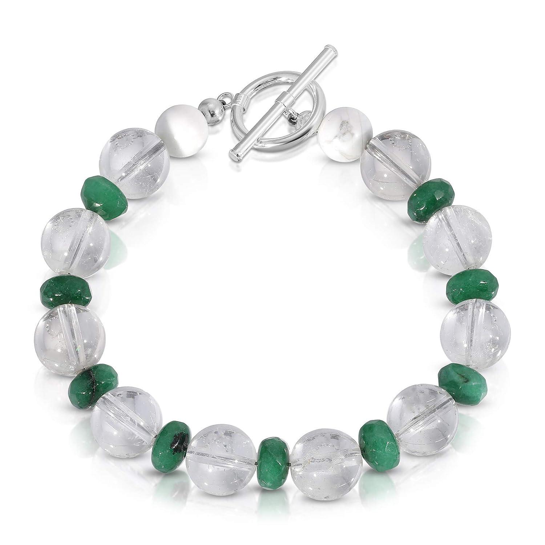 Omaha Mall Art Jewelry Max 85% OFF Gemstone Bracelet. Handmade One of Kind a Qu Crystal