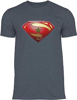 best sneakers 24f0d 21385 wowshirt T-Shirt Maroc emblème bannière Drapeau marocain Homme
