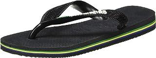 havaianas Brasil Logo, Unisex Adult's Flip Flops, Grey6/7 UK (41/42 EU)